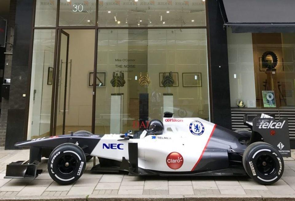 Китаец выкупил коллекцию авто Формулы 1 закриптовалюту