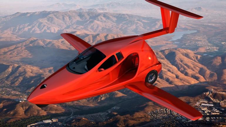 В 2018-ом  стартуют продажи первого вмире летающего спорткара Switchblade