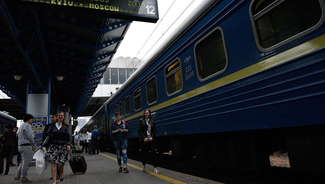 Пассажиров украинского интернационального поезда сутки мурыжили без еды итепла— Европейский вояж