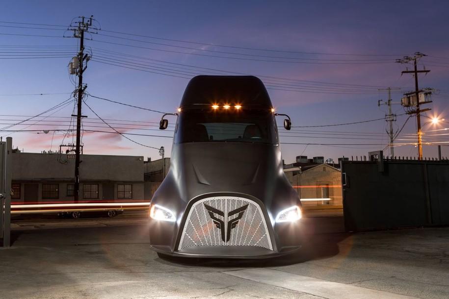 Электро-грузовик изниоткуда: Thor ET-One