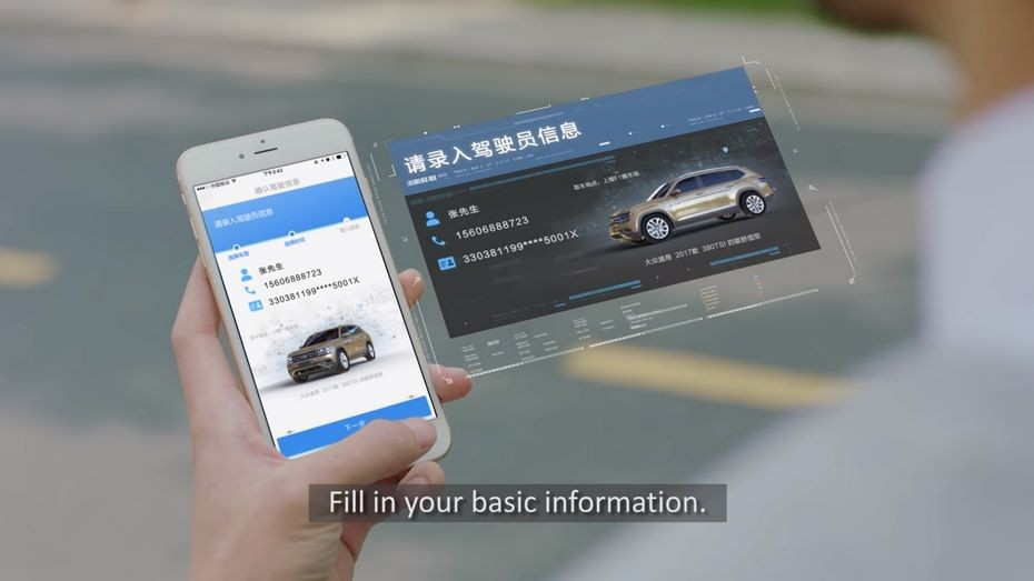 Сервис Alibaba вводит продажи авто при помощи селфи