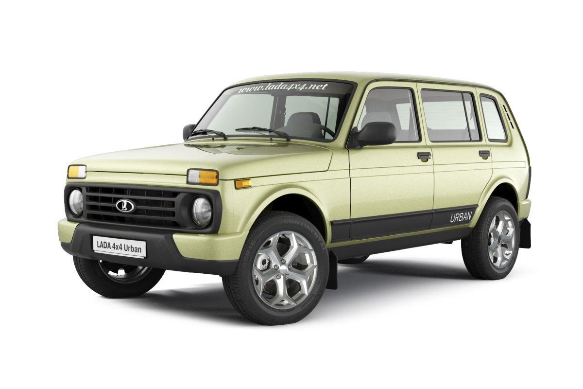 «АвтоВАЗ» вывел 5-дверную Лада 4x4 на германский рынок