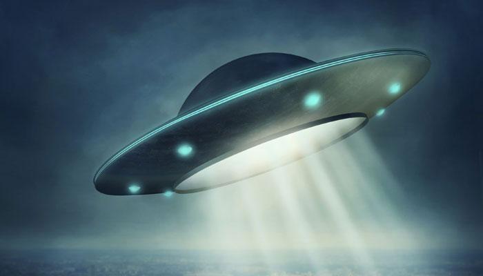 ВСША супружеская пара увидела НЛО над супермаркетом