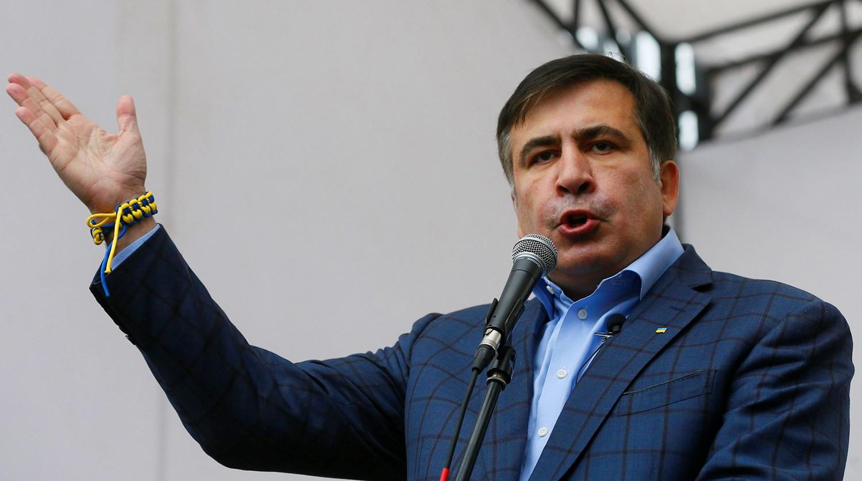 Саакашвили объявил оготовности пожертвовать жизнью ради государства Украины