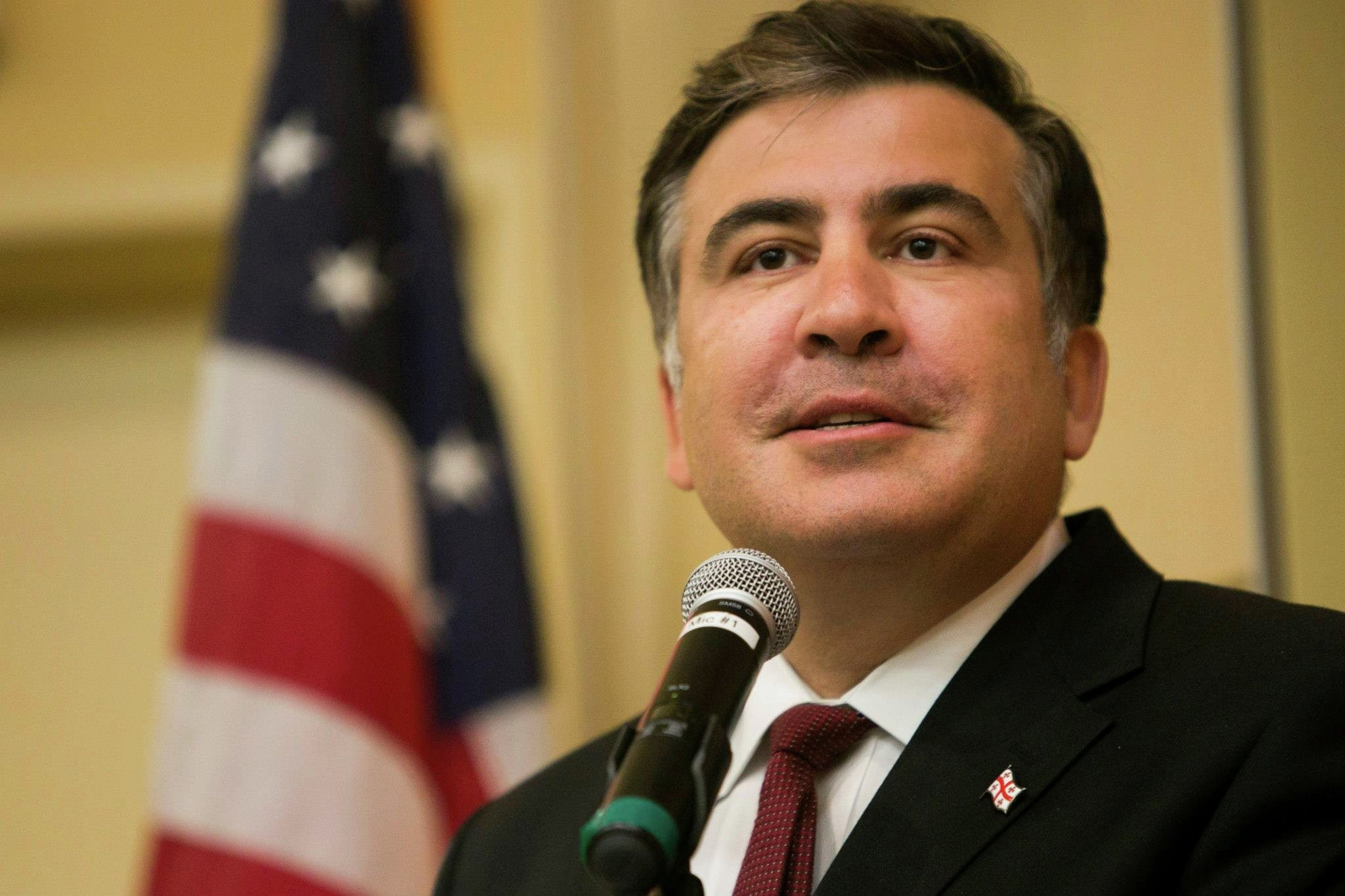 Саакашвили опроверг сообщения описьме кПорошенко