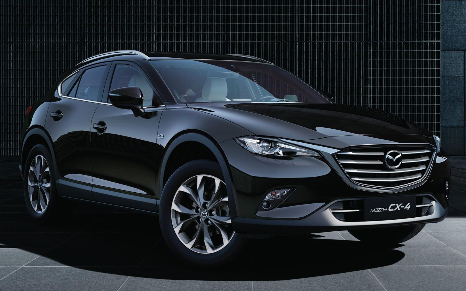 Китайские специалисты протестировали Мазда CX-4 2018 модельного года
