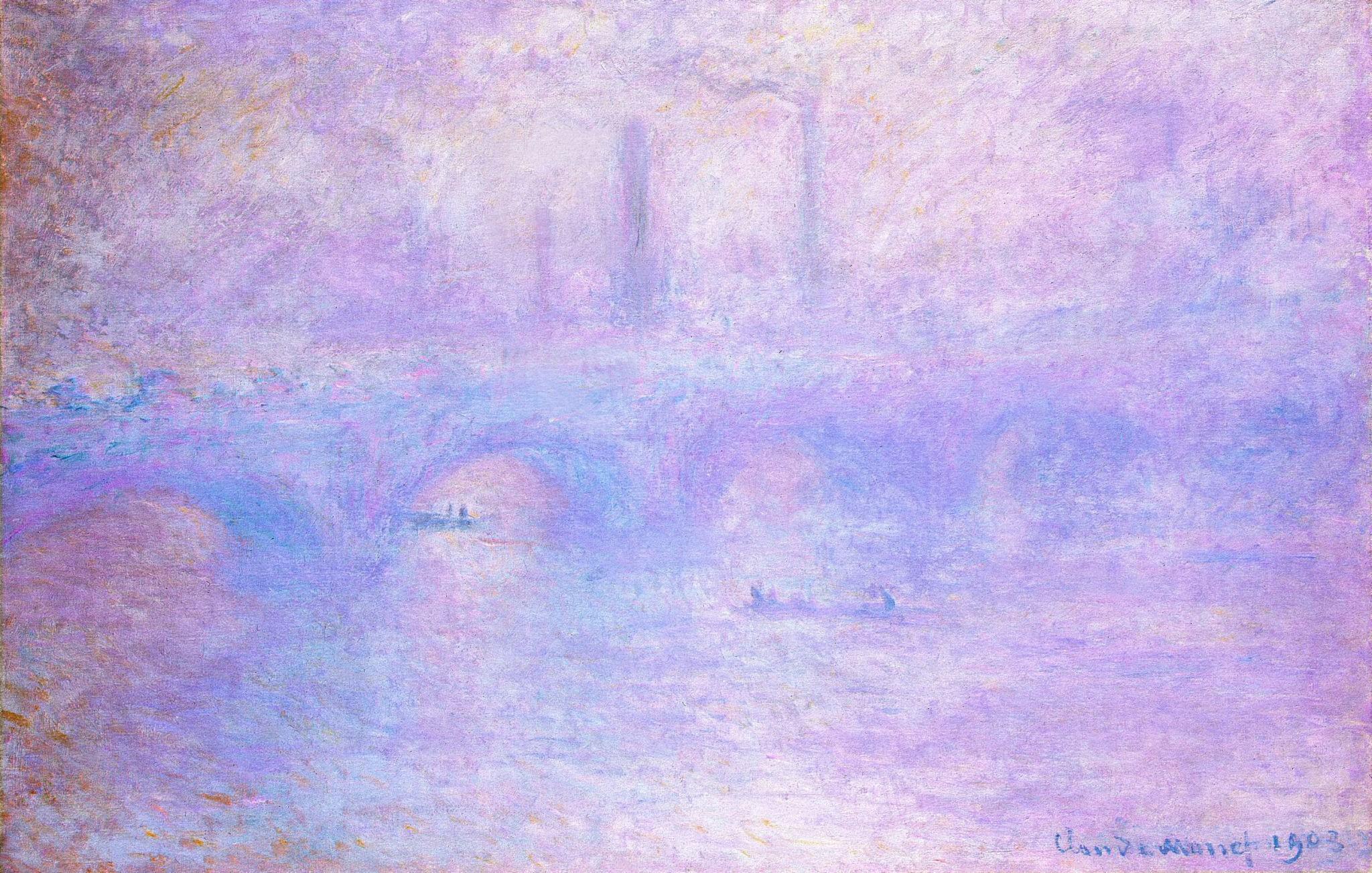 Пропавшую картину Моне «Эффект тумана» обнаружили спомощью Google
