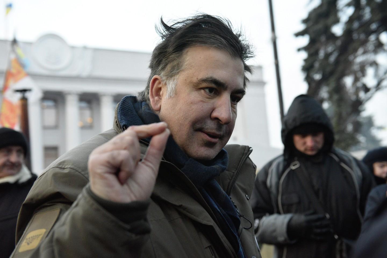 Сторонники Саакашвили силой захватили Октябрьский дворец вКиеве