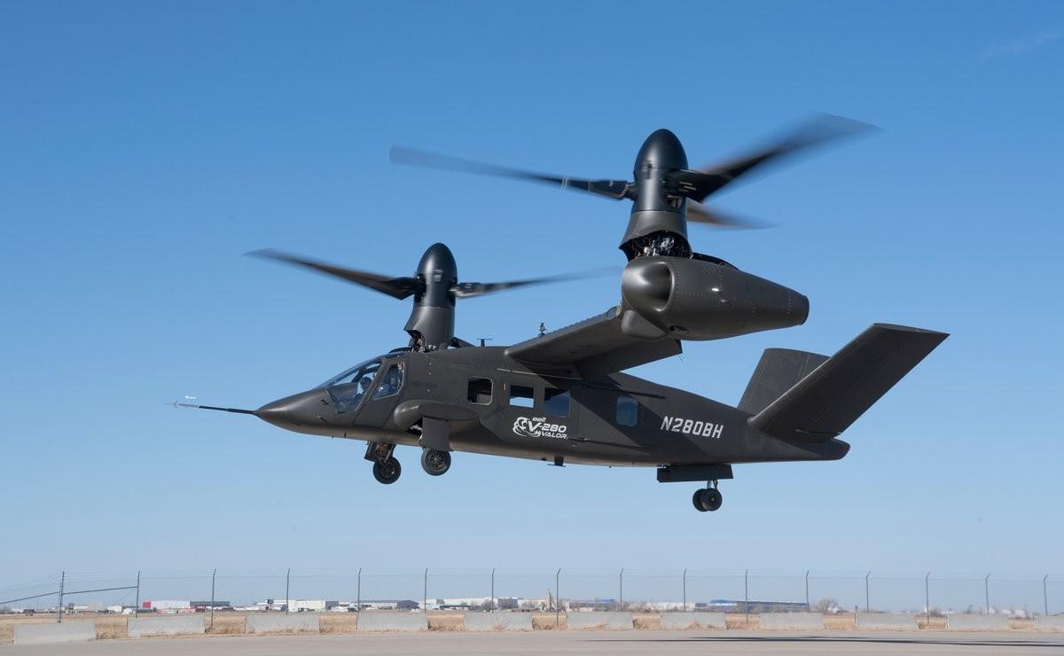 Конвертоплан V-280 Valor совершил 1-ый испытательный полет