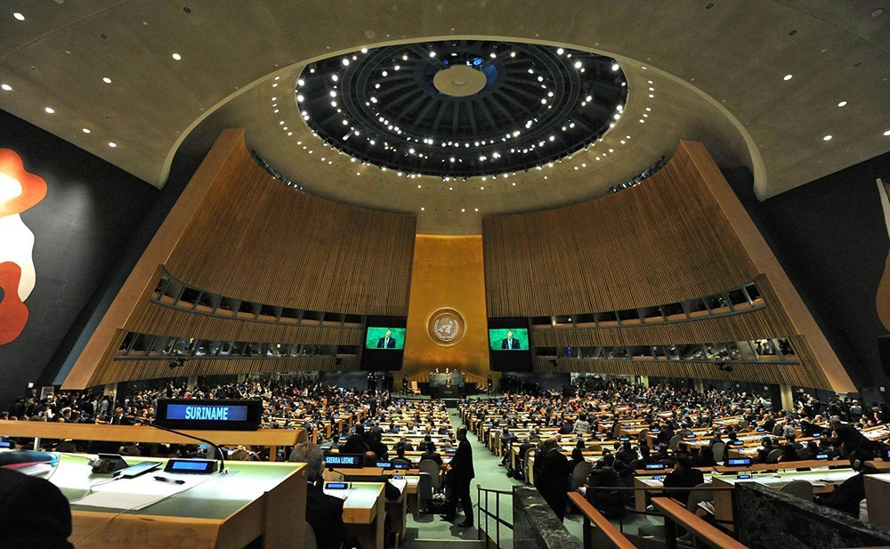 Генассамблея ООН приняла украинскую резолюцию поКрыму