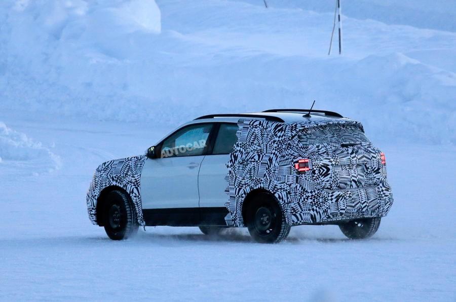 VW T-Cross поступит в реализацию вконце будущего 2018г. — Слухи