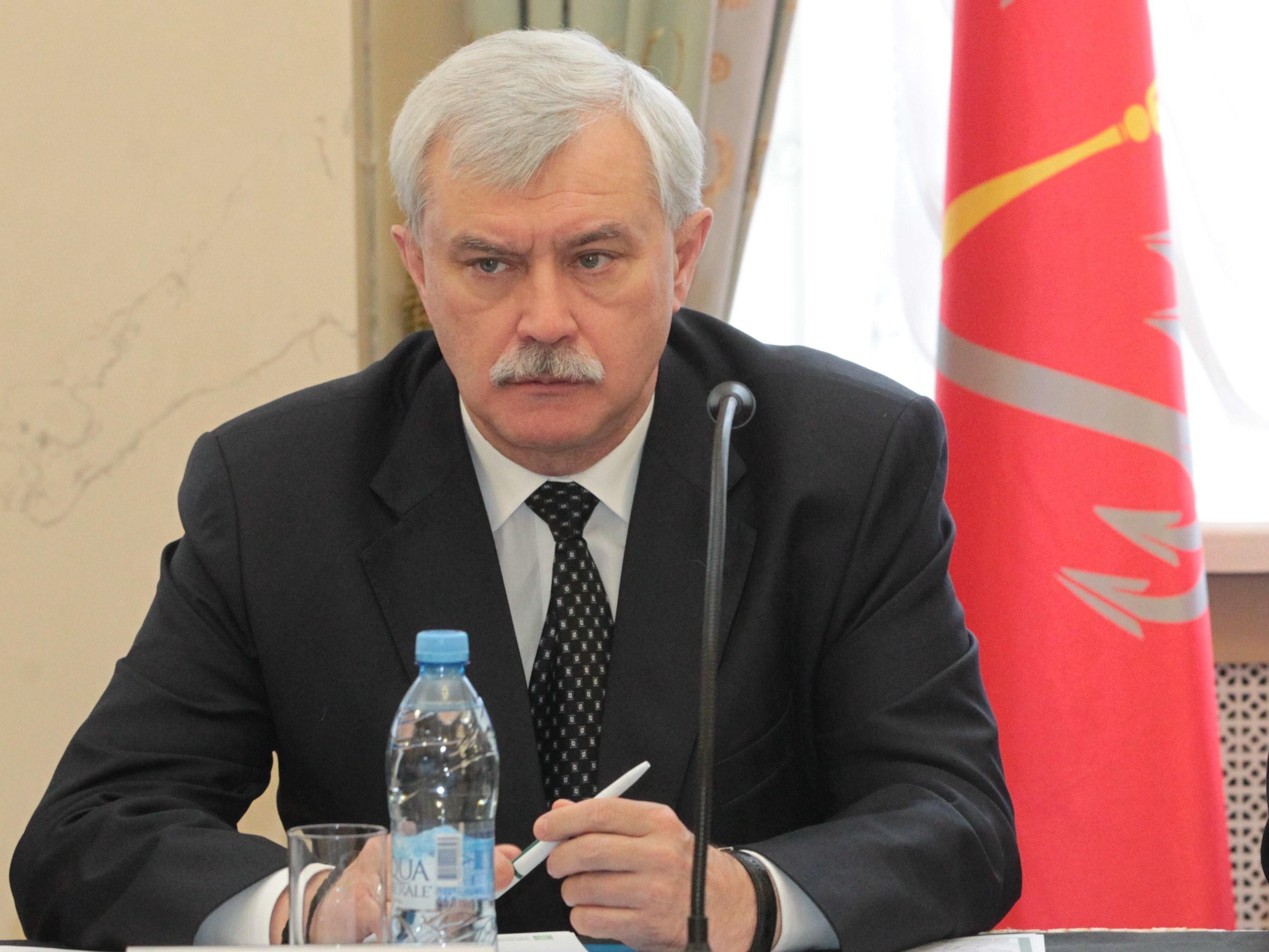 Полтавченко высмеял очередные слухи особственной «отставке»