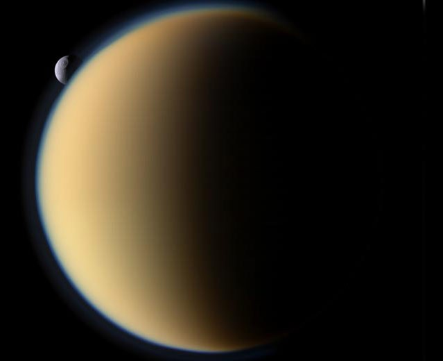 NASA будет искать жизнь наТитане— Покорение космоса