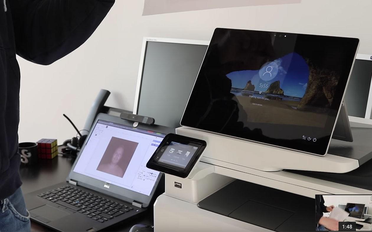 Сканер лица вWindows 10 можно обмануть фотографией