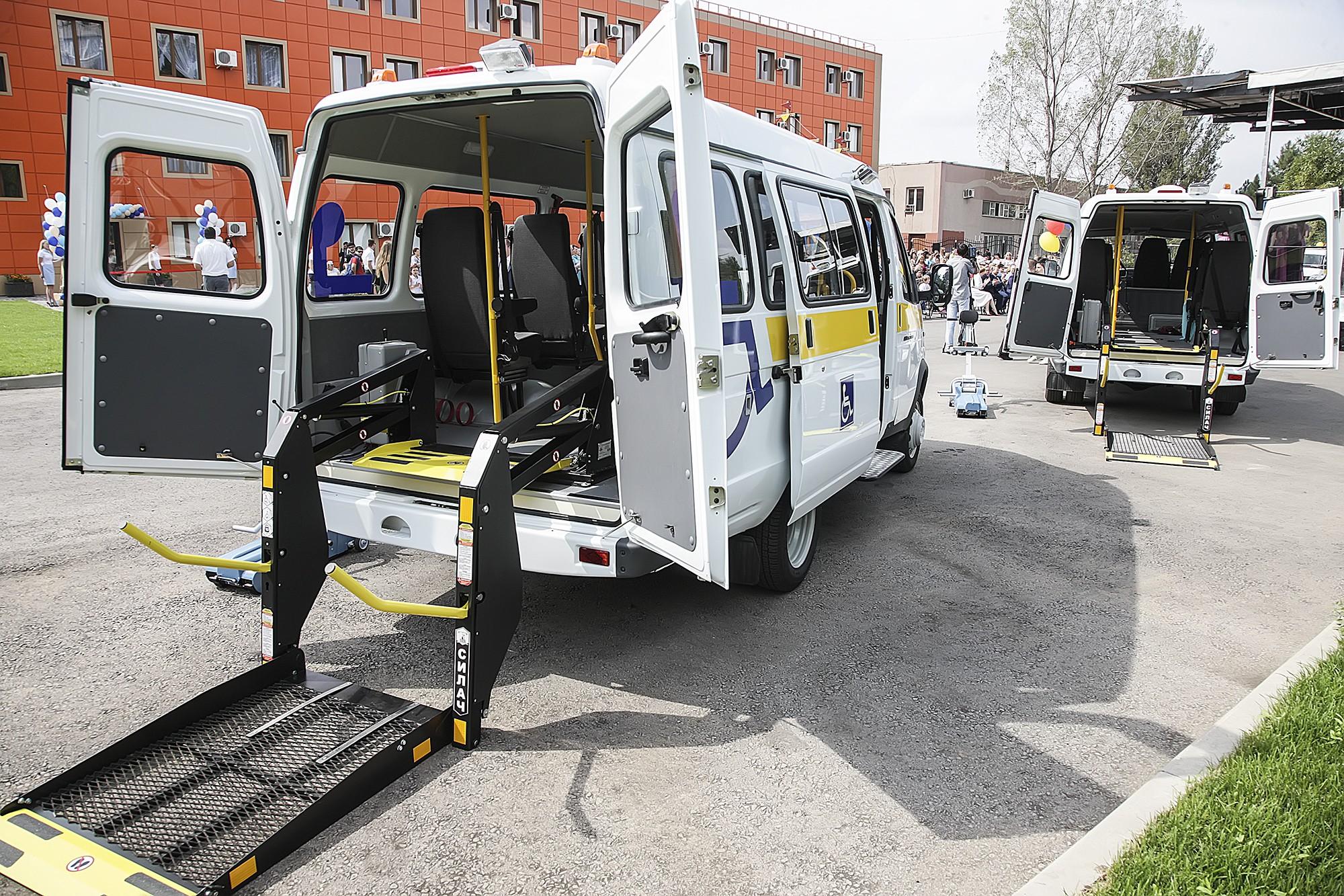 ВРостове заработает социальное такси для людей сограниченными возможностями