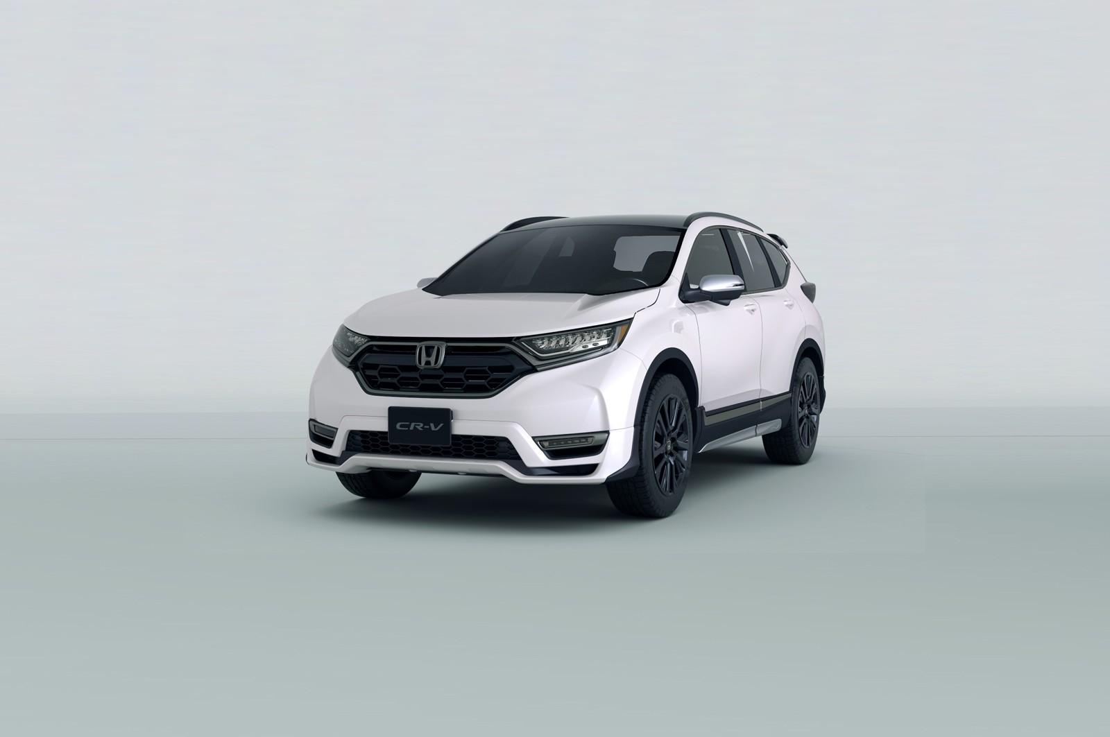 Хонда презентует вТокио спортивный кроссоверв Хонда CRV Custom Concept