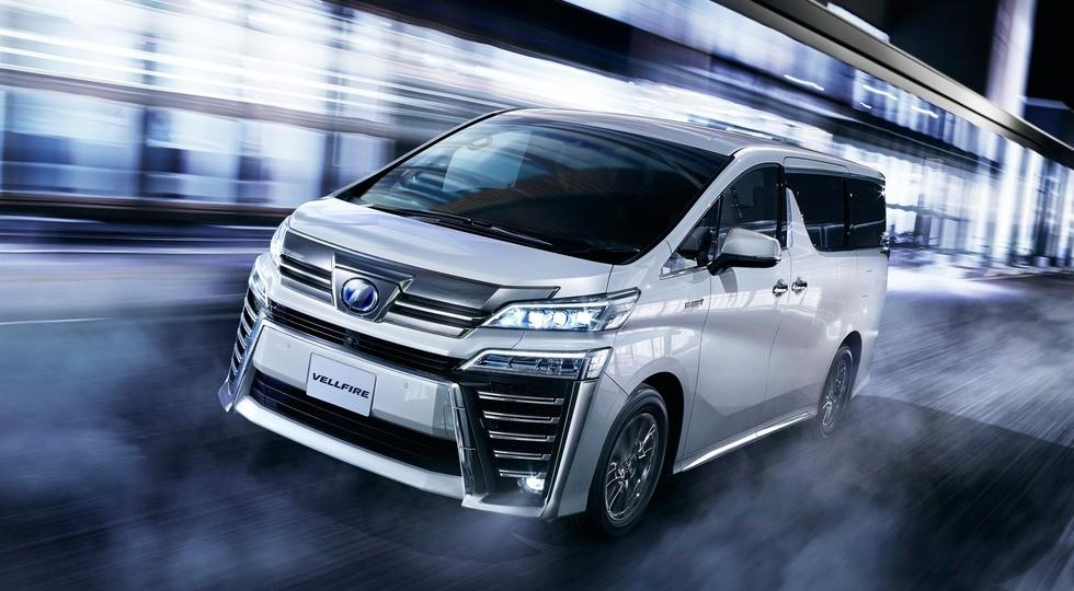 Toyota рассекретила рестайлинговый минивэн Alphard