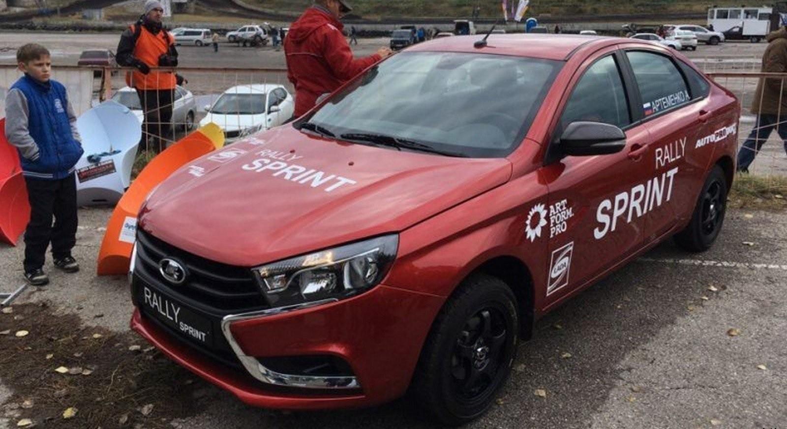 Раллийная Лада Vesta Rally Sprint получит форсированный мотор