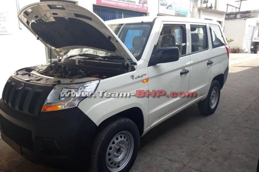 ВИндии разрабатывают 9-местный кроссовер Mahindra TUV300 Plus