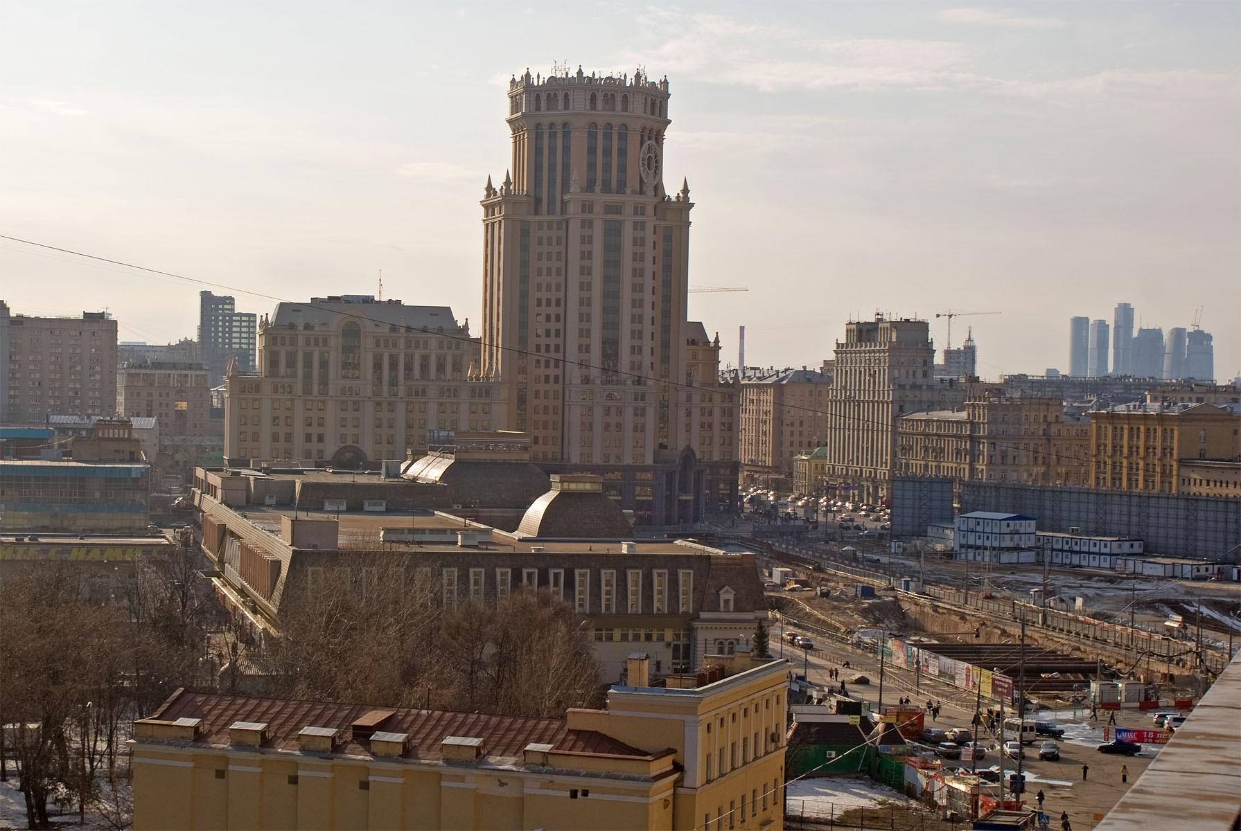 В Москве на Павелецкой площади построят подземный торговый центр 21b1e02d540