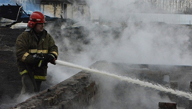 Потушен пожар вдевятиэтажном доме вНальчике