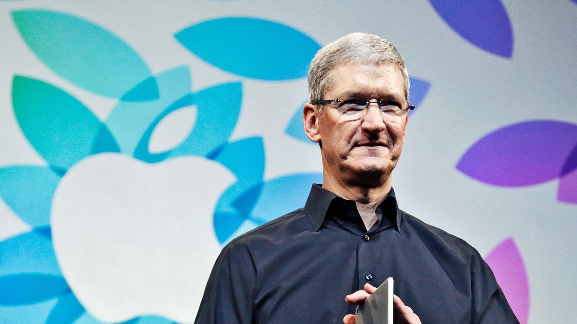 Apple увеличила годовое вознаграждение Тима Кука на47%