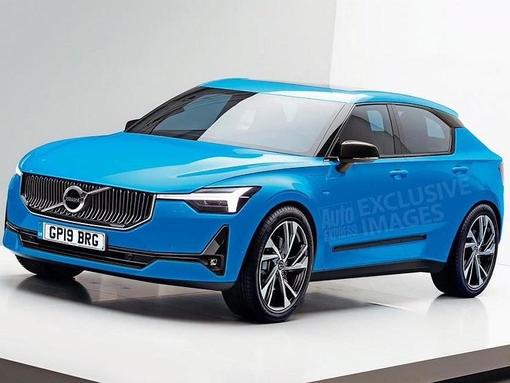 Хэтчбек третьего поколения Volvo V40 дебютирует в 2019-2020 годах
