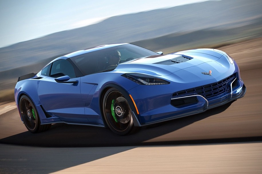 Электрокар набазе Corvette получит 800-сильную силовую установку