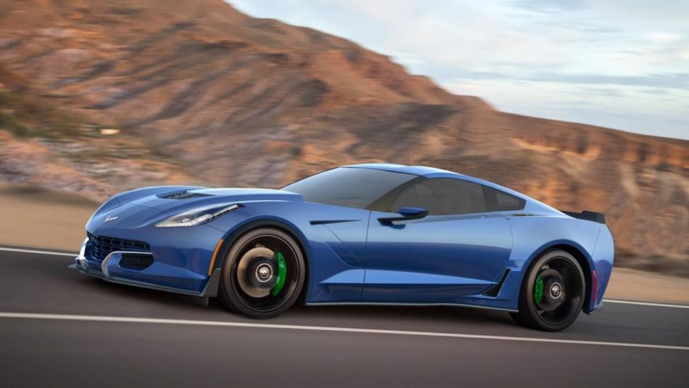 В США выпустят 800-сильный электрический Chevrolet Corvette