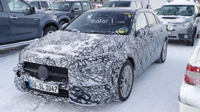 Появилась информация одвигателях нового Mercedes-Benz A-Class class=