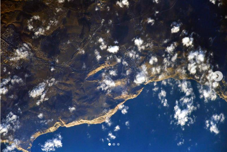 Появились кадры Керченского моста, снятые сМКС
