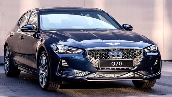 Стало известно, каким будет премиальный седан Genesis G70 для Российской Фе ...