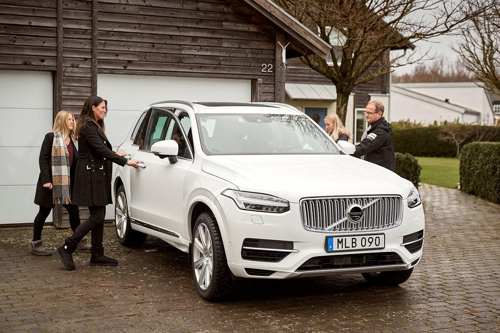 В Швеции семьи с детьми протестируют беспилотники Volvo