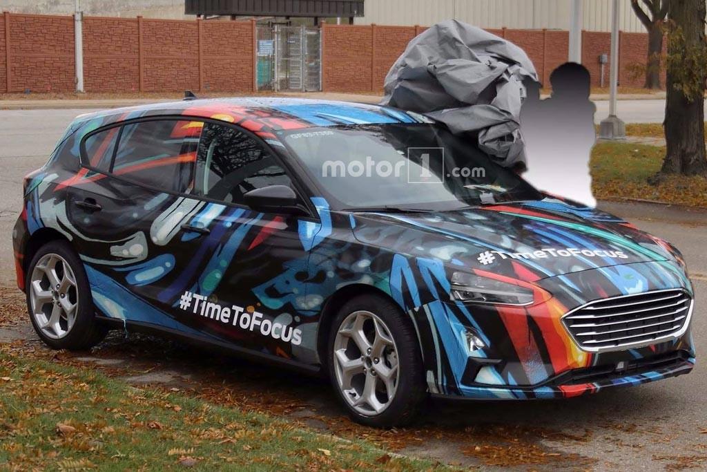 Стала известна дата презентации хэтчбека Форд Focus нового поколения