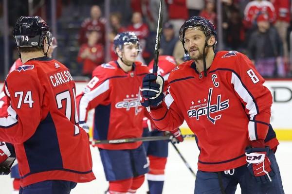 Александр Овечкин назван первой звездой дня в НХЛ