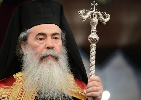 В Екатеринбург впервые прибыл патриарх Иерусалимский Феофил III