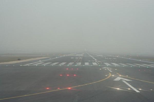 В аэропорту «Воронеж» из-за тумана задержаны четыре рейса