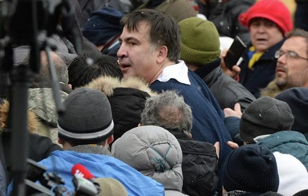 Саакашвили в суде назвал себя военнопленным Путина и украинской власти