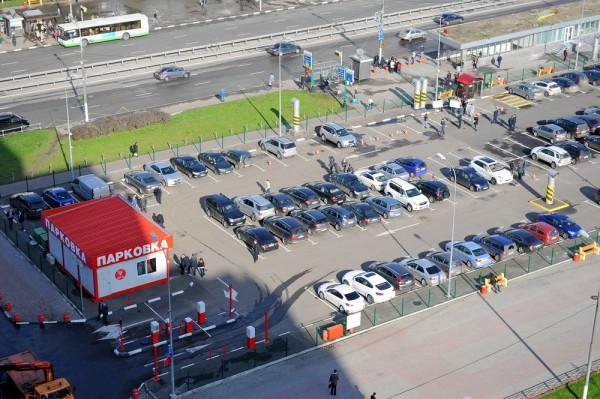 В Москве к ЧМ-2018 заработают перехватывающие парковки на 7 000 мест