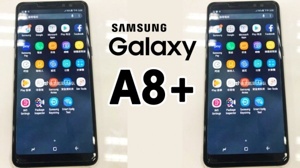 В Сети появилось первое видео нового смартфона Samsung Galaxy A8+