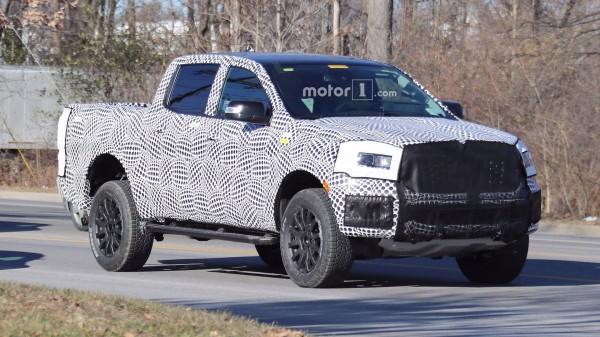 Пикап Ford Ranger FX4 замечен на тестах в серийном кузове