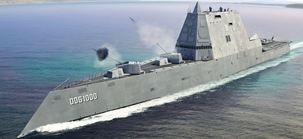 Эсминец-невидимка USS Zumwalt сломался во время испытаний