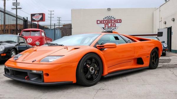 Легендарный Lamborghini Diablo GTR продают за $645 000