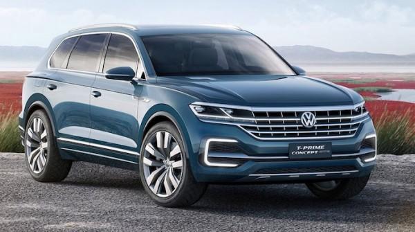 Новый внедорожник Volkswagen Touareg презентуют весной 2018 года