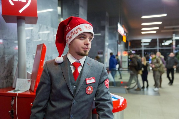 В новогоднюю ночь в московском метро будут работать 5000 человек