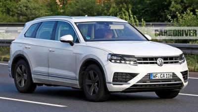 Новый Volkswagen Touareg покажут весной 2018 года