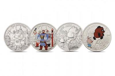Памятные монеты с Вини-Пухом выпустили в ЦБ