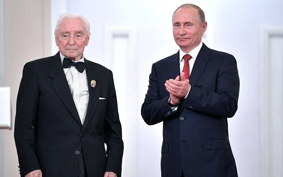 Путин поздравил с91-летием известного хореографа Юрия Григоровича