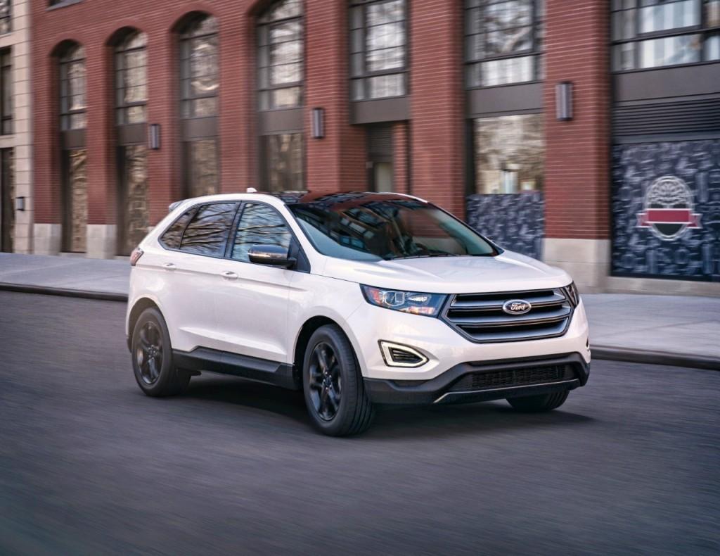 Форд снизил цены накроссовер Edge 2018-ого года