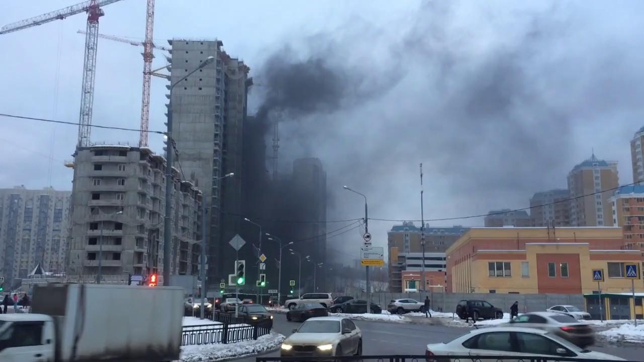 ВНовороссийске произошел пожар встроящемся доме